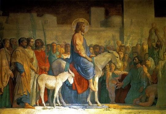 Flandrin, Christ's Entry Into Jerusalem