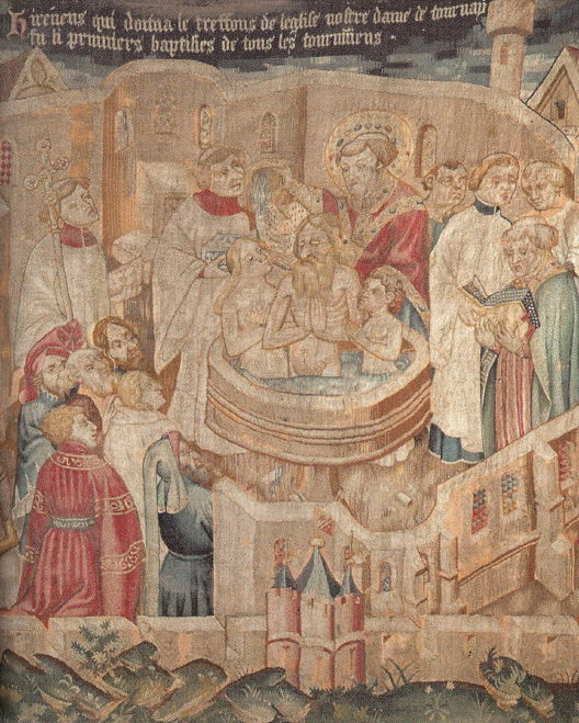 Pierrot Feré, Baptism of St. Irenaeus