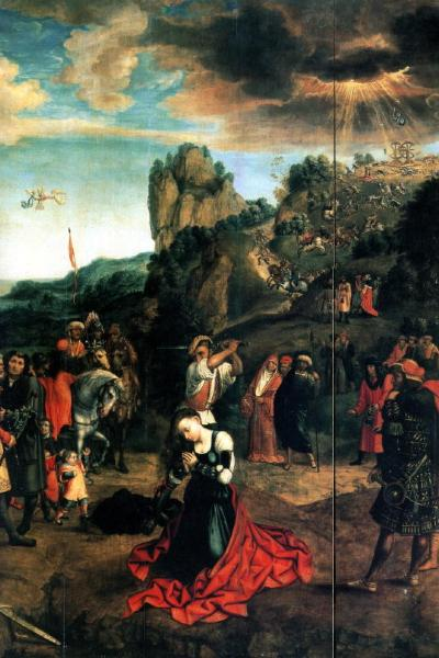 Orley, Martyrdom of St. Catherine