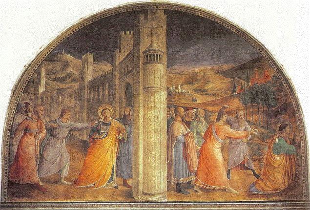 Fra Angelico, St. Stephen fresco 3