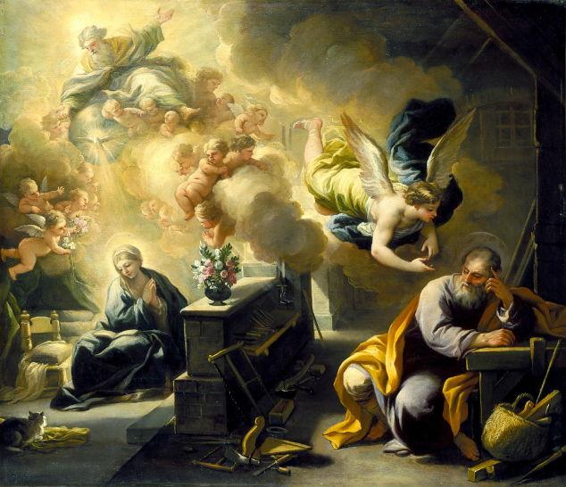 Giordano, Dream of St. Joseph 1700