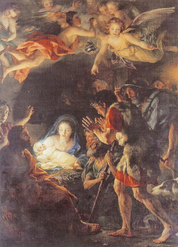 Mengs, Adoration of the Shepherds