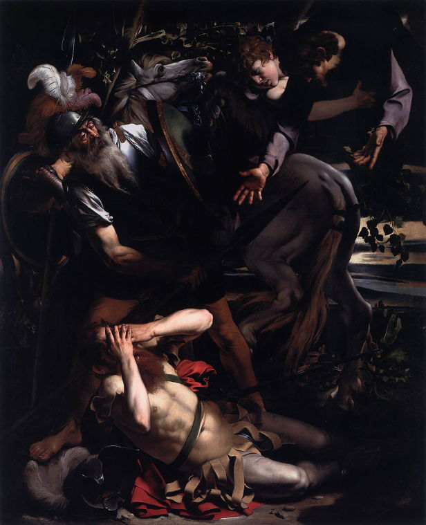 Caravaggio, Conversion of St. Paul, 1600