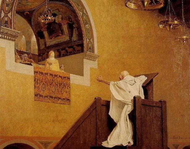 Laurens, St. John Chrysostom Confronts Empress Eudoxia