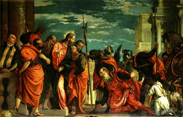 Veronese, Centurion Before Christ 1581