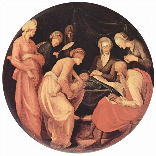Pontormo, Birth of John the Baptist