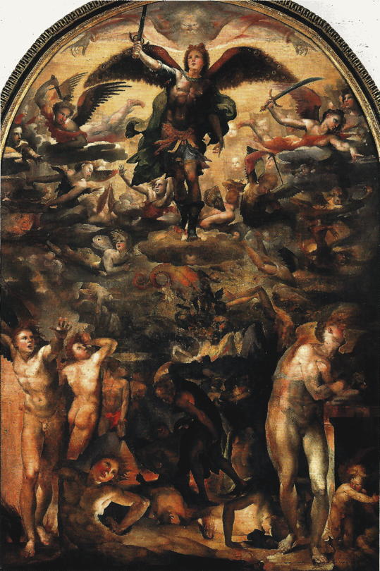 Beccafumi, St. Michael and the Fall of the Rebel Angels