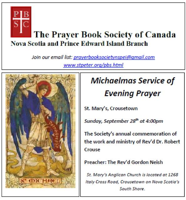 Michaelmas, St. Mary's, Crousetown