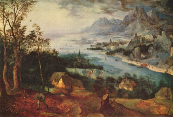 Pieter Bruegel the Elder, Landscape with Parable of the Sower