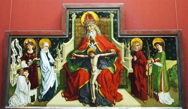 Hemmel, Trinity with Saints