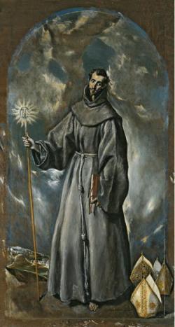 El Greco, St. Bernard (Prado)
