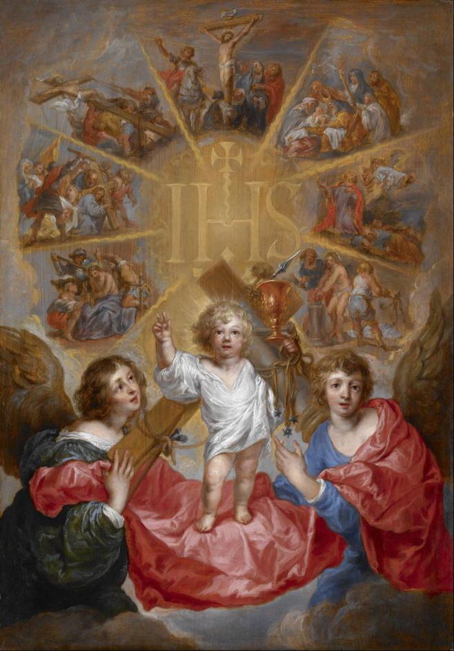 Sallaert, Glorification of the Name Of Jesus