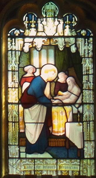St. Paul's Knightsbridge, Luke the beloved physician