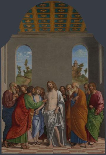 Cima da Conegliano, Incredulity of St. Thomas