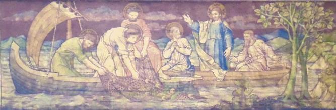 St. Augustine Kilburn, Miraculous Catch of Fish