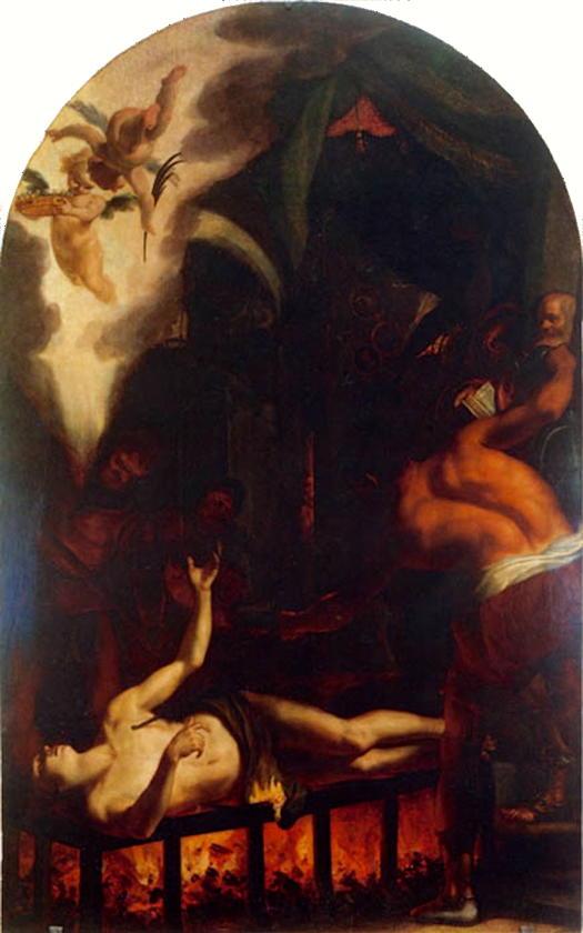 Cardi (Il Cigoli), Martyrdom of St. Laurence