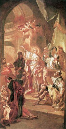 Kracker, Dispute Between St. Catherine and Philosophers