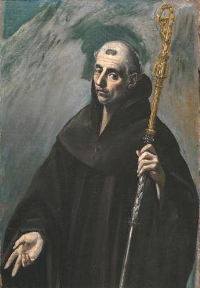 El Greco, St. Benedict