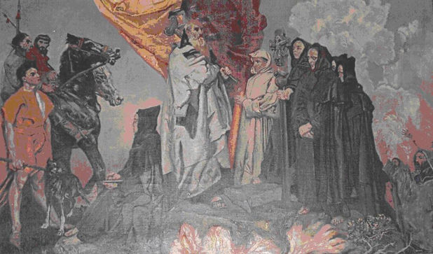 Keating, St. Patrick Lights the Paschal Fire at Slane