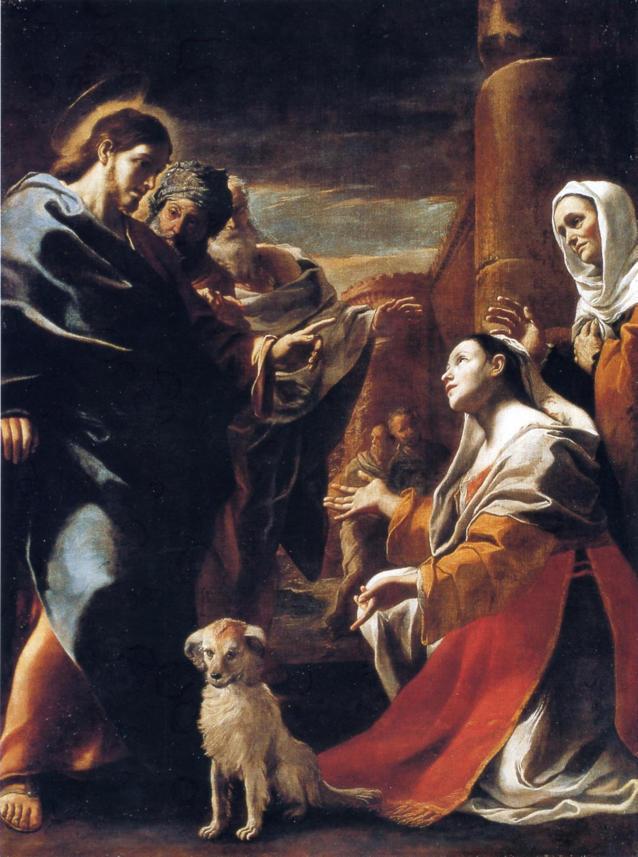 Preti, Jesus and the Canaanite Woman