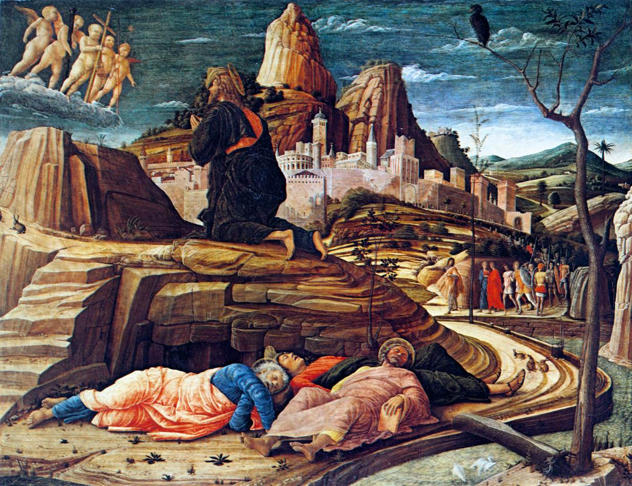 Mantegna, Agony in the Garden (London)