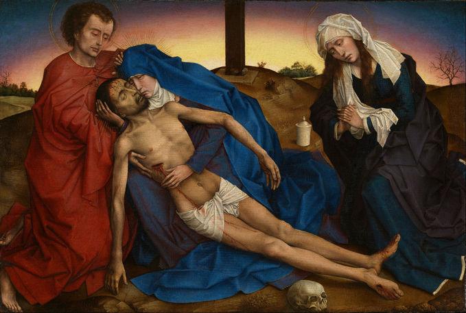 Rogier van der Weyden, Pietá (1441)