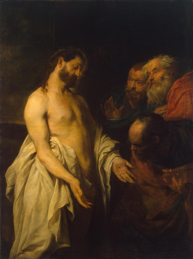 van Dyck, Appearance of Christ to his Disciples