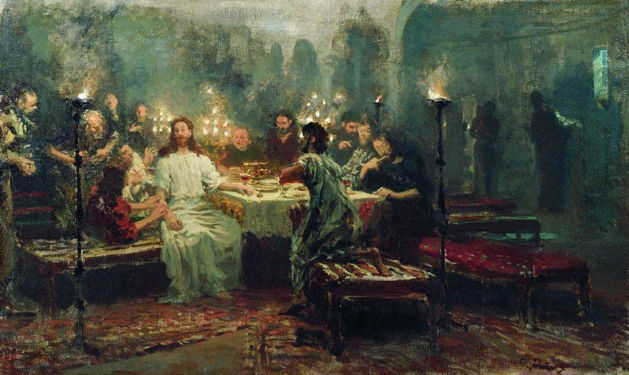 Repin, Last Supper