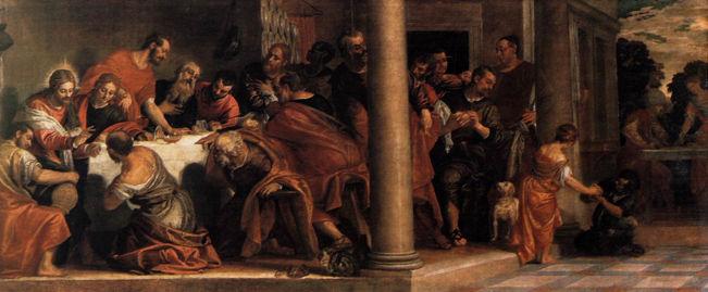 Paolo Veronese, Last Supper (Brera)