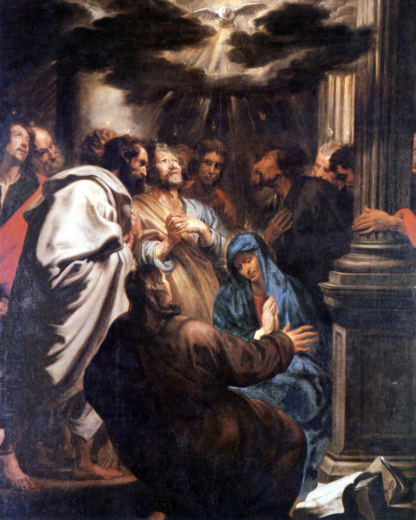 van Dyck, Descent of the Holy Spirit