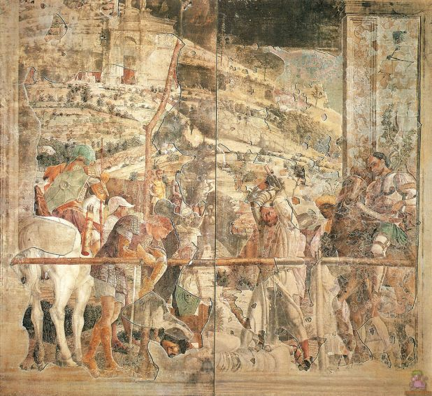 Andrea Mantegna, Martyrdom of St. James