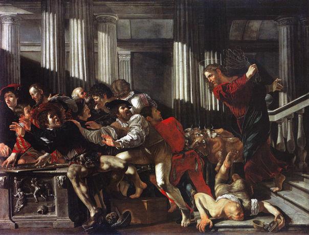Francesco Boneri (Cecco del Caravaggio), Purification of the Temple