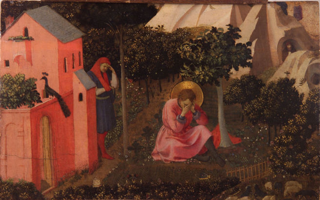 Fra Angelico, Conversion of St. Augustine