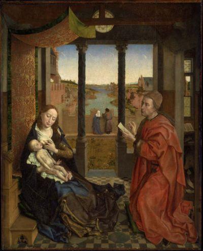 Rogier van der Weyden, St. Luke Drawing the Virgin