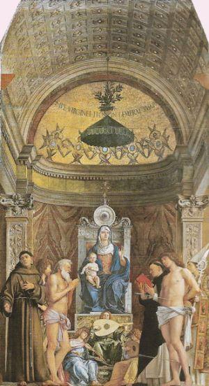 Giovanni Bellini, San Giobbe Altarpiece