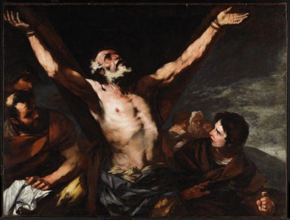 Luca Giordano, Crucifixion of St. Andrew (Ottawa)