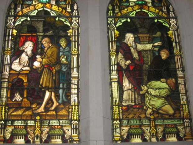 Scots' Church, Parable of the Unforgiving Servant