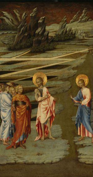 Giovanni di Paolo, Ecco Agnus Dei