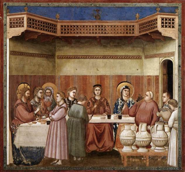 Giotto, Marriage at Cana
