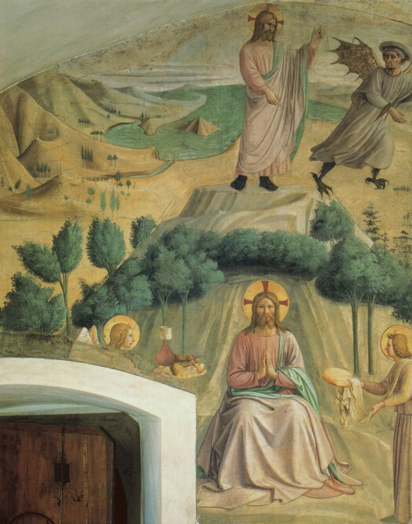 Fra Angelico, The Temptation of Christ