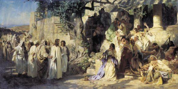 Henryk Siemiradzki, Christ and a Sinner