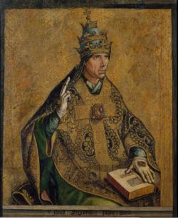 Pedro Berruguete, Pope Saint Gregory the Great
