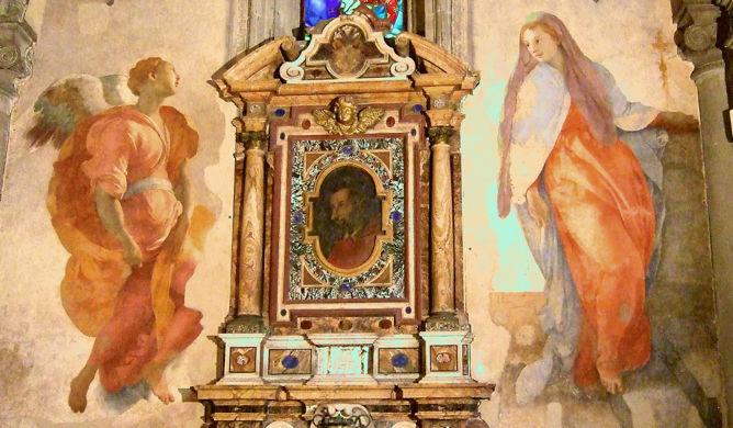 Jacopo Pontormo, Annunciation