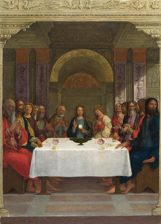 Ercole de' Roberti, The Institution of the Eucharist