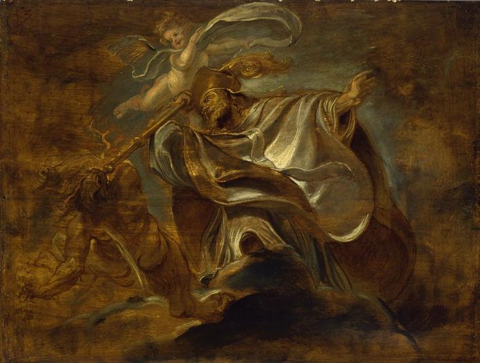 Peter Paul Rubens, St. Gregory of Nazianzus