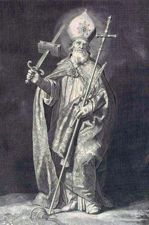 Cornelis Bloemaert, Saint Boniface