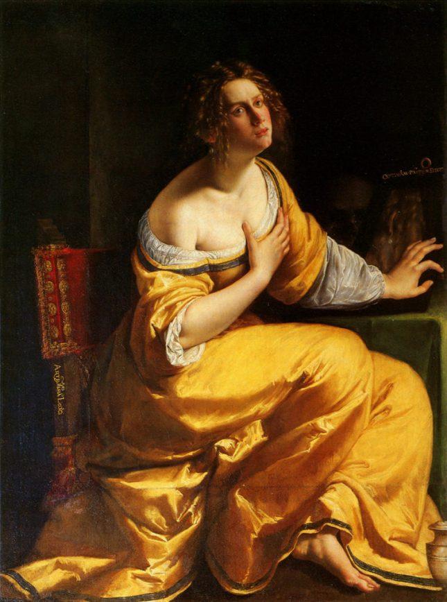 Artemisia Gentileschi, The Repentant Magdalene