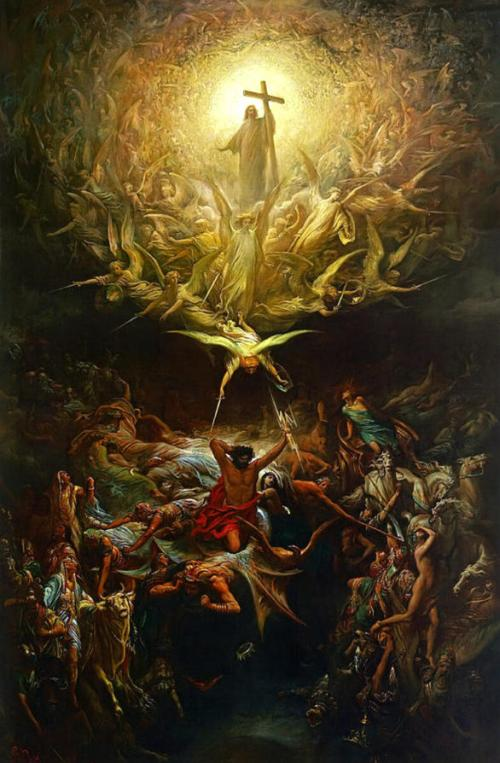 Gustave Doré, The Triumph Of Christianity Over Paganism