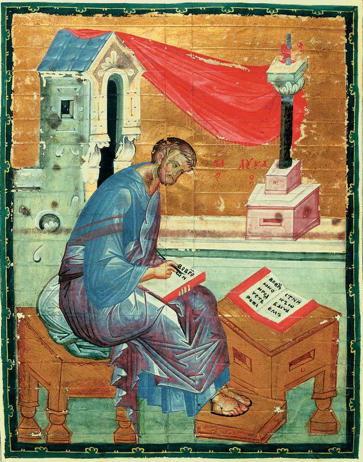 Andrei Rublev. St. Luke The Evangelist