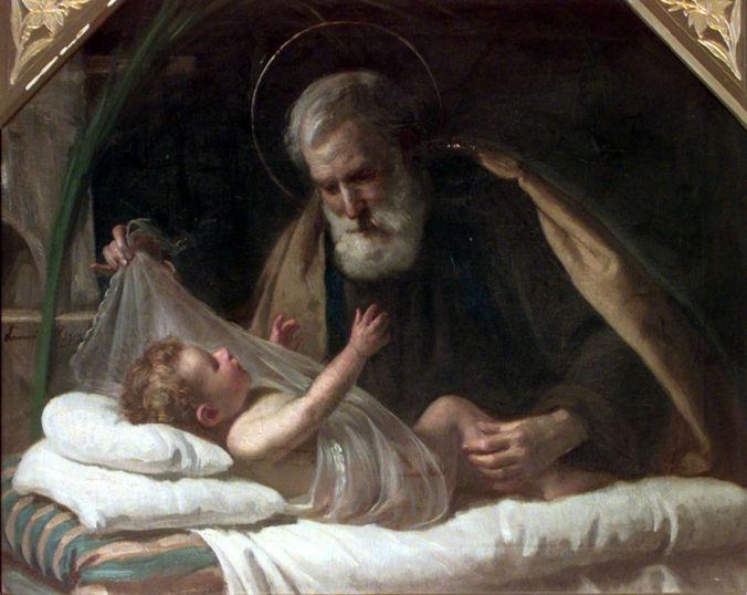 Ponziano Loverini, Saint Joseph and the Christ Child